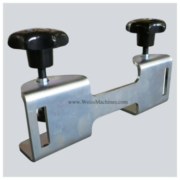 Back clamp with 220mm distance – Back side view