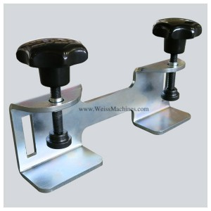 Back clamp with 220mm distance – Front side view
