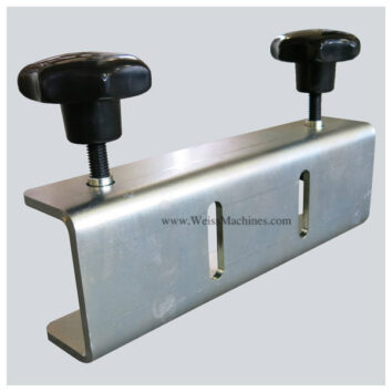 Back clamp with 80mm distance – Back side view