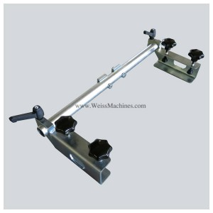 Side clamp unit – 80mm distance - Top left side view