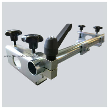 Side clamp unit – Close up back side view