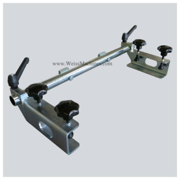 Side clamp unit – 220mm distance - Top left side view