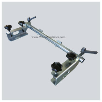Side clamp unit – Top right side view
