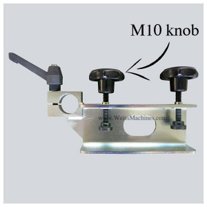 Side clamp with M10 knob – Example