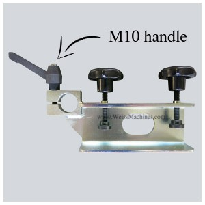 Side clamp – M10 handle example