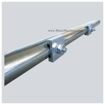 Side clamp tube with fittings – 220mm distance