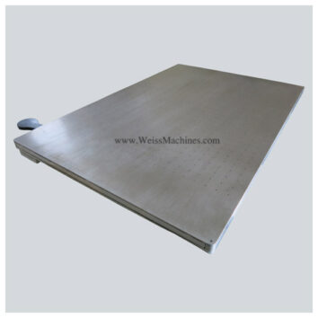 Vacuum pallet – Top right view