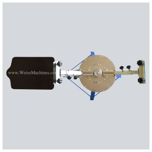 Example of a SMALL 2 colour screen print carousel – Top view