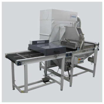 WPA54/130-SR - Powder scattering machine with pre-heater