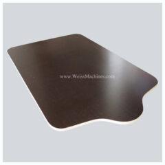 Screen printing pallet – Fiberboard – Top side view