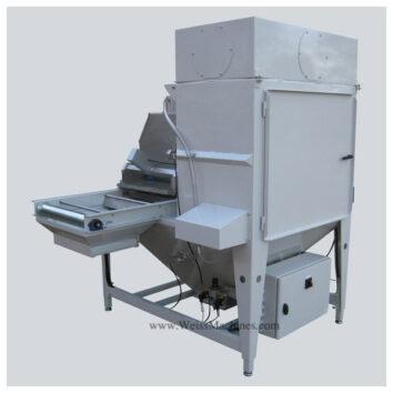 WPA54/180-SL - Powder scattering machine - Back side