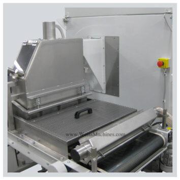 WPA54/130-SR - Powder scattering machine - Clean off area