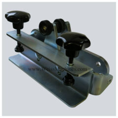 Back clamp (E) for MEDIUM series - Front view